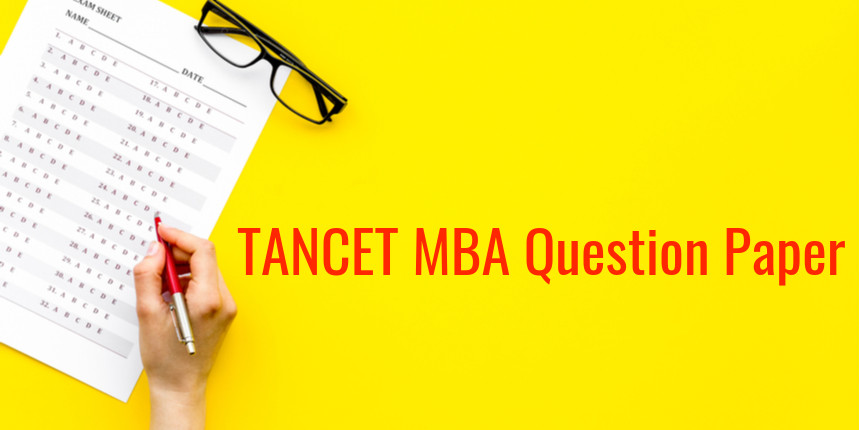 TANCET MBA Question Papers